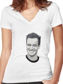 Brendon Urie aka my always crush Women's Fitted V-Neck T-Shirt