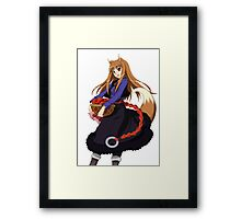 Holo - Spice and Wolf Framed Print