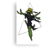 Cactus Scarecrow 2 Canvas Print