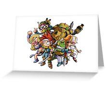Chrono Trigger Greeting Card