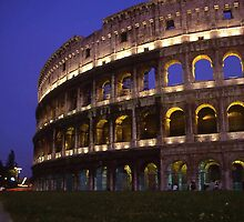 Colleseum, Rome Italy by Mishimoto