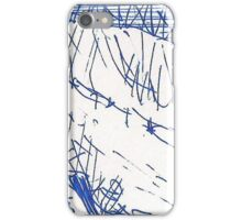 SAYING PRAYERS FIRST(BLUE INK PEN))(C2011) iPhone Case/Skin