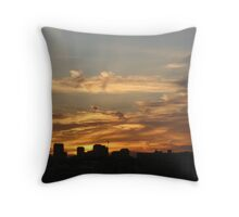 LA Sunset Throw Pillow