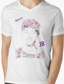 GOT7 JB Word Art Mens V-Neck T-Shirt
