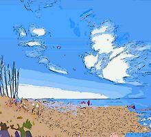 At the seashore by ♥⊱ B. Randi Bailey