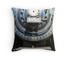Union Pacific Engine No. 4442 Throw Pillow