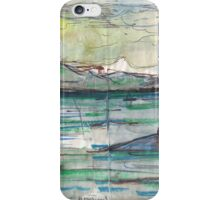 VANCOUVER ISLAND ON HORIZON(C2012) iPhone Case/Skin