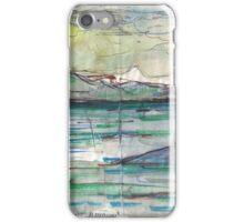 VANCOUVER ISLAND ON HORIZON(C2012) iPhone Case/Skin