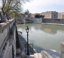 ROME - The TEVERE River by Daniela Cifarelli