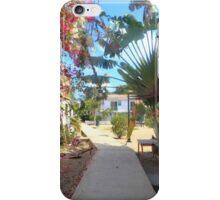 Shadowy boardwalk iPhone Case/Skin