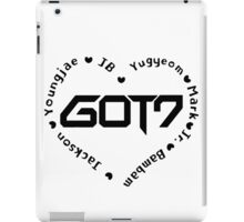 GOT7 Heart iPad Case/Skin