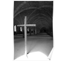 Fountains Abbey Poster