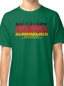 Michael Schumacher World Championships Flag Classic T-Shirt