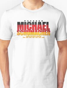 Michael Schumacher World Championships Flag Unisex T-Shirt