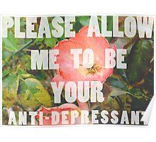 anti-depressant Poster