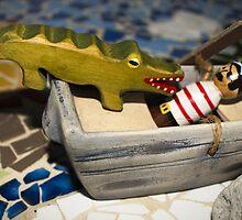Tick Tock,  Pirate Captain Hook by Urbanfringe