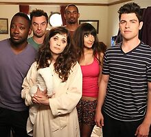 New Girl cast by maddypit