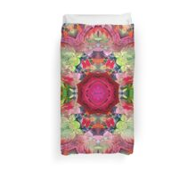 Flowers of life Duvet Cover