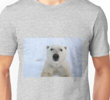 Close Encounter - Polar Bear Portrait Unisex T-Shirt