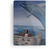 Pirate Captain Hook Sea's Moby Dick Metal Print