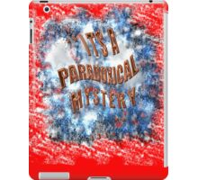 PARADOXICAL mystery  iPad Case/Skin