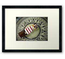An Eastern Pirate Framed Print
