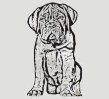 Dogue De Bordeaux Puppy by ritmoboxers