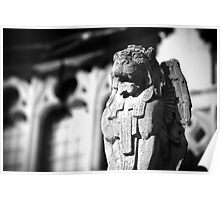 Church Gargoyle Poster