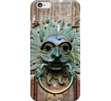 The Sanctuary Knocker, Durham Cathedral iPhone Case/Skin