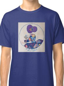Tuesday Ironing Butterfly Bonnet Lady Classic T-Shirt