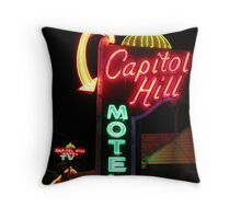 capitol hill Throw Pillow