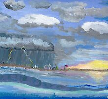 The Storm looms overhead by Anne Gitto