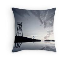 Silhouettic Throw Pillow