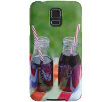 Mason Jar Drinks Samsung Galaxy Case/Skin