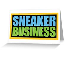 Sneaker Business Greeting Card