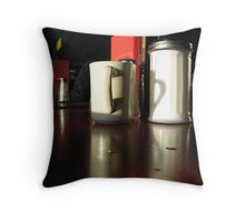 Diner Mood Throw Pillow