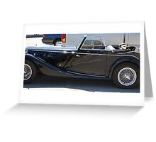 Solved - Morgan I am a closer shot of what mystery car? Greeting Card