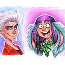 Mally and Thackery by CherryGarcia