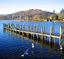 Lake Windermere by Ludwig Wagner