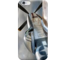 P51 Mustang - Ready for action iPhone Case/Skin