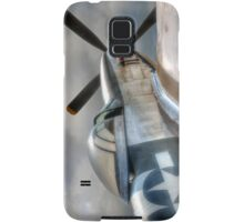 P51 Mustang - Ready for action Samsung Galaxy Case/Skin