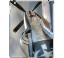 P51 Mustang - Ready for action iPad Case/Skin