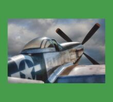 P51 Mustang - Ready for action Kids Clothes
