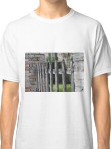wooden fence Classic T-Shirt