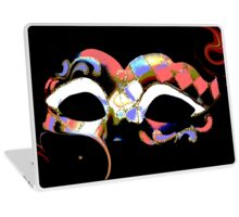 abstract carnival mask Laptop Skin