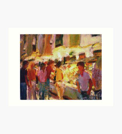 Market Art Print
