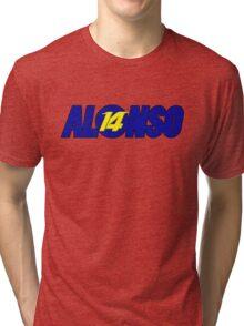 Alonso #14 Tri-blend T-Shirt