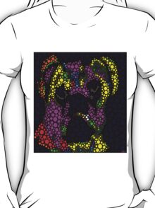 Pugs are People Too Abstract T-Shirt