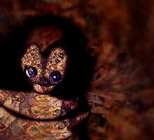 """""""Nature's Doppelgangers Part Two A Cat's Thought Form That Wants To Reflect Life From It's Right Eye"""" by Kirrill D'Kainn"""