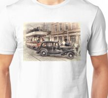 Paisley District Tram - Hand Tinted Effect Unisex T-Shirt